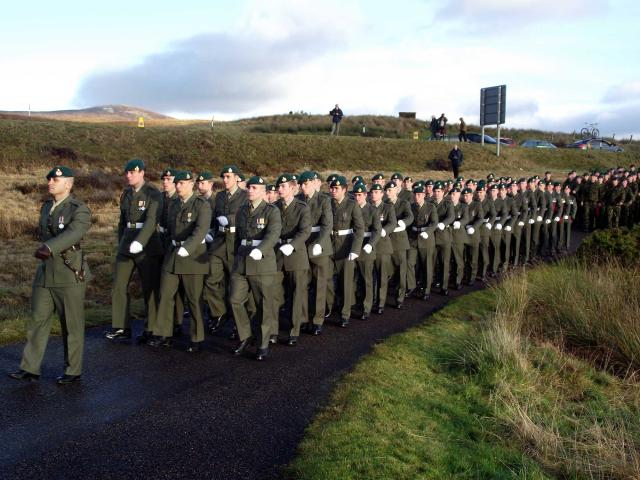 Service at the Commando Memorial, Spean Bridge - 7