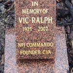 Vic Ralph   No.1 Cdo.