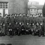 No. 4 Commando  'A' Troop  1942, Barassie St School, Troon.