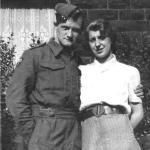 Joe Lavin and his wife Irene