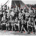 Numbered copy of the No.11 Commando 10 troop photo