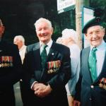 Reg Harmer DCM, George Dove, Len Mitchell
