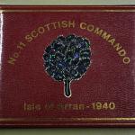 No.11 Scottish Commando visitors book
