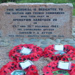 Operation Hardtack 28 Memorial, Petit Port, Trinity, Jersey