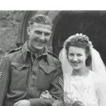 L/Sgt Alfred King and his wife Kathleen