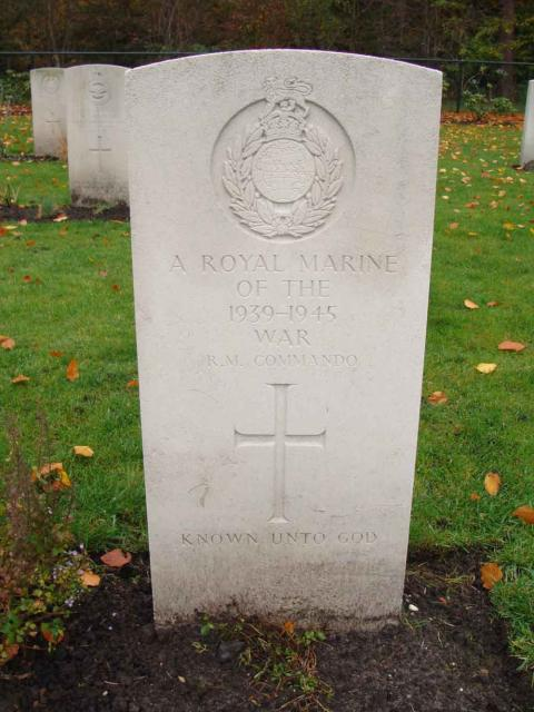 A Royal Marine Commando of the War Known unto God