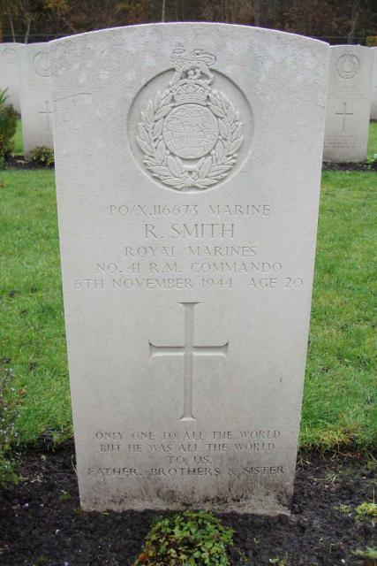 Marine Reginald Smith