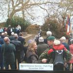 Operation Hardtack 28 Memorial Service, Petit Port, Trinity, Jersey.  2004