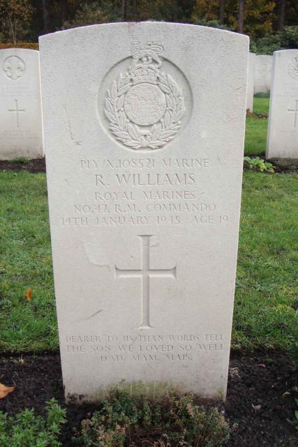 Marine Raymond Williams
