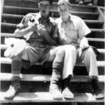 Frank Judge and Paul Mackintosh in Cairo