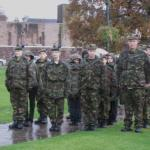 Some very wet cadets at Fort William