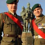 Service at the Commando Memorial, Spean Bridge - 10