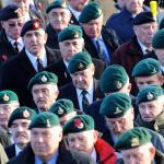 Service at the Commando Memorial, Spean Bridge - 11