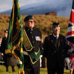 Service at the Commando Memorial, Spean Bridge - 13