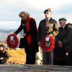 Service at the Commando Memorial, Spean Bridge - 17