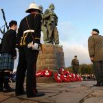 Service at the Commando Memorial, Spean Bridge - 25