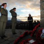 Service at the Commando Memorial, Spean Bridge - 31