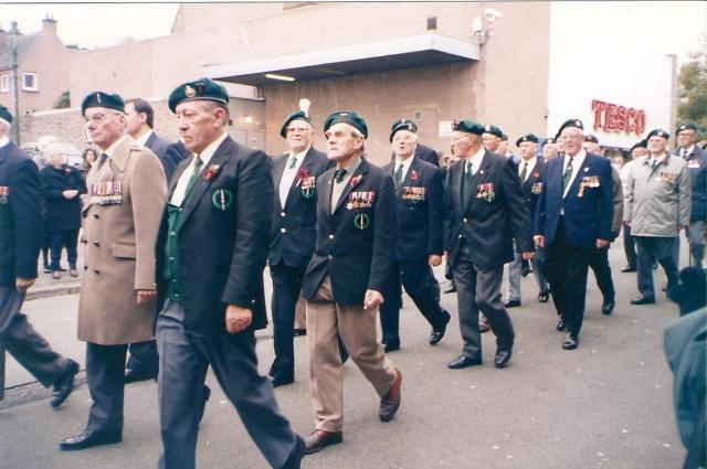 Fort William Rememberance Service  - 4 - year not known.