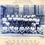 No.2 Commando boxing team  July 1942