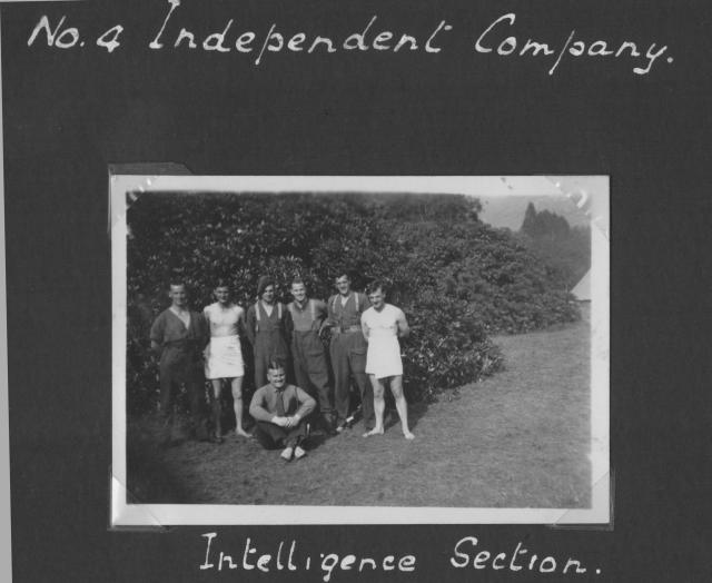 No.4 Independent Company Intelligence Section