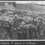 Tomlinson and some of 6 troop No.2 Commando.