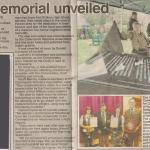 New Memorial article