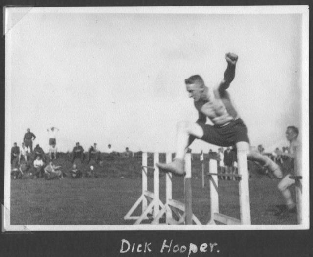 Capt. Dickie Hooper  No.2 Cdo at a sports event Sept 1941