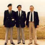 Vic Smart, Bill Britnell, Arthur Chivers. 3 Cdo
