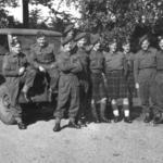 No.2 Commando Sgts. pre St Nazaire