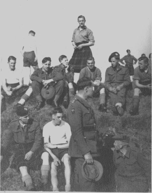Lieut. Hopwood and others