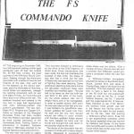The FS Commando Knife