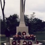 Bill Britnell at memorial
