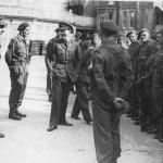 HRH Prince Bernhard of the Netherlands and No.2 Dutch troop 10IA Cdo