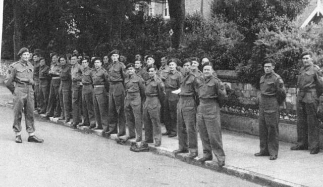 No.2 Dutch troop 10IA Commando Eastbourne Sep.44