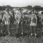 Nick J de Koning, Cpl  Ubels, Lt Knottenbelt, Sgt Wim van der Veer, Rudy Blatt