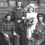 Wedding photo (2) of Albert te Grotenhuis No.10IA Cdo 2 troop