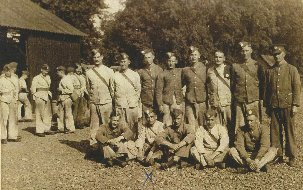 1937 Working Party from the Royal Engineers