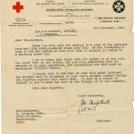 British Red Cross letter dated 4th December 1942