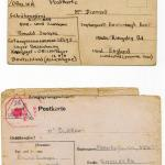 Reverse of  letter from Lieut. Ronnie Swayne dated 15th October 1942
