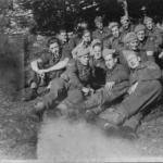 Bill Timmer, Sgt. Van Gelderen and others