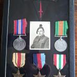 Medals and insignia of Ronald 'Ken' Young
