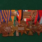 Photo and medals of R. C. Michels