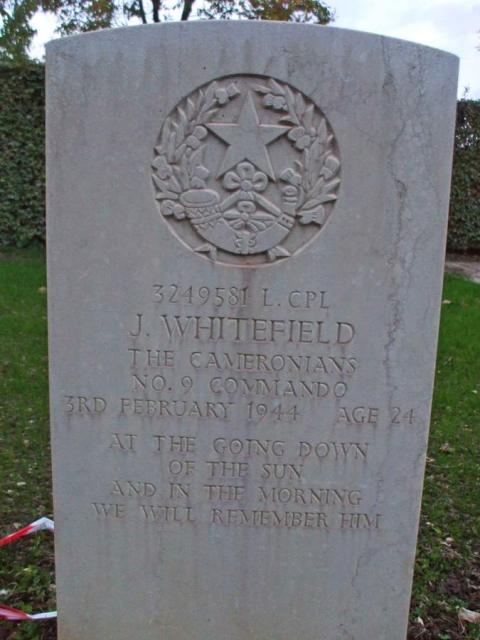 Lance Corporal James Whitefield