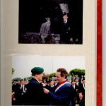 2 post war photos of John Fairhurst 46RM Cdo.
