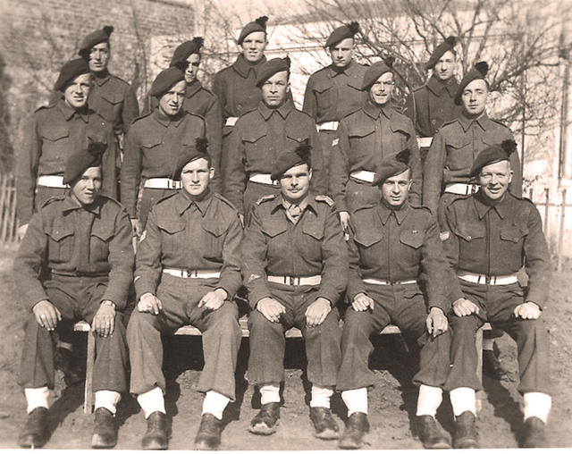 Some of No.9 Commando in Greece (similar to photo alongside)