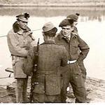 Lt Francis (left), Lt.Kither (later kia - facing), & Lt.Ferguson (behind him)
