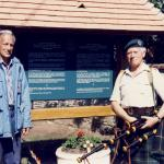 Peter Gibson and Bill Millin - Bavant