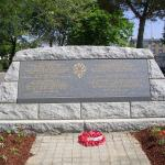 Memorial at St. Nazaire for the those who died on the Lancastria