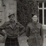 Capt. Donald Roy and Lieut. Richard 'Dickie' Morgan.