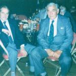 Richmond Matthews and Bill Proctor 1990